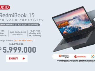 Mitra Penjualan eksklusif RedmiBook 15