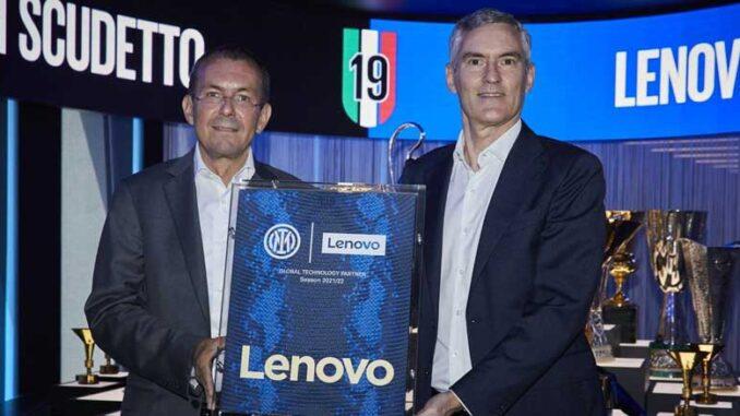 Lenovo Jadi Sponsor Inter Milan