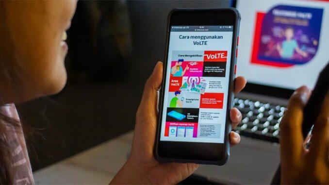 Layanan VoLTE Telkomsel