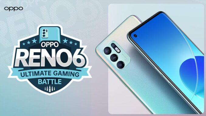 Reno6 Ultimate Gaming Battle